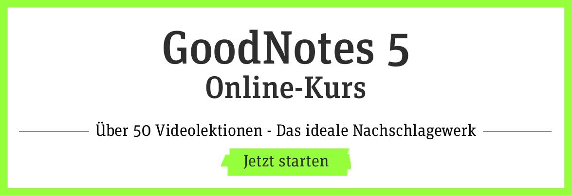 GoodNotes 5 Video-Kurs
